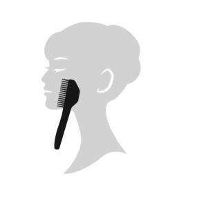 エレクトロン エブリワン デンキバリブラシ(電気バリブラシ) 顔 使用方法7 気になる部分
